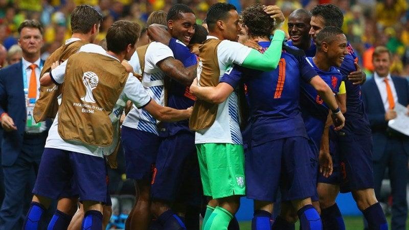 ブラジルワールドカップ W杯 3位決定戦 ブラジル オランダ 7戦無敗