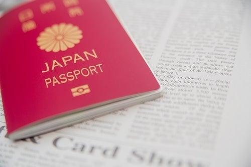 日本パスポート年