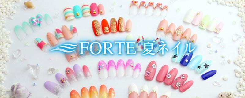 美容室FORTE 夏のネイルコレクション フットネイル ペディキュア