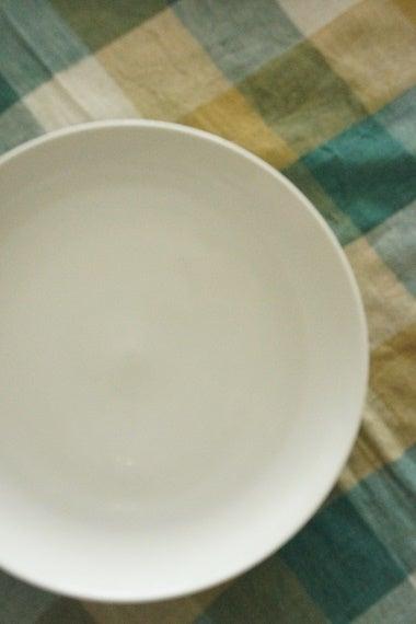 大振りな銘々皿は「カレー皿」なのです(笑)