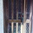 所沢 木製玄関ドア塗…