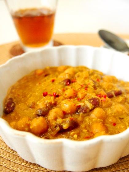 マクロビ 豆カレー