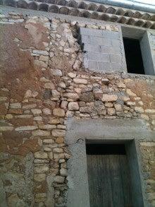 プロヴァンスの家改装中