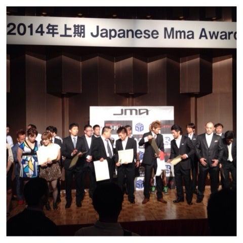 安西信昌JAPAN MMA AWARDコメント