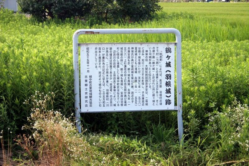 鶴ヶ城/説明板