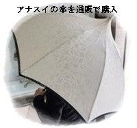 アナスイの傘を通販で