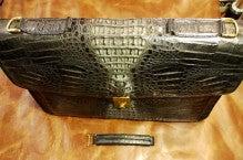 カバン持ち手の金具交換養老町K様1407-3