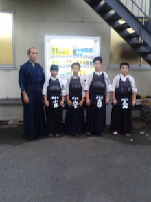 勝田若葉会の剣士の皆さま