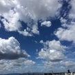 今日の空は壮大だね♡