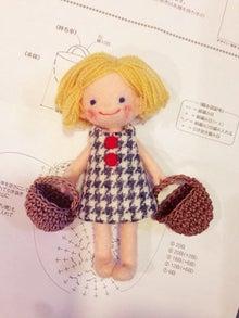 羊毛フェルト人形バッグ