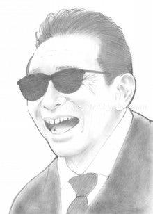 タモリさん(鉛筆)