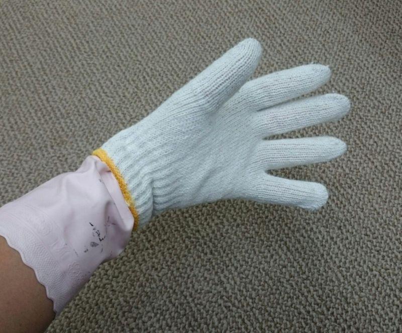 ブラインド掃除の手袋
