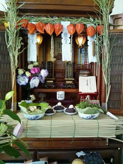 ぼんしんの徒然仏壇お盆飾り
