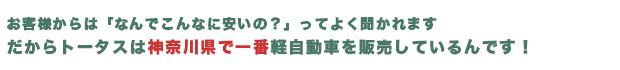 神奈川県 未使用車 販売