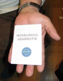 インテルリングア文法