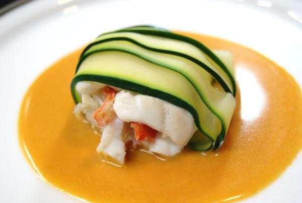 タラバ蟹のポピエット