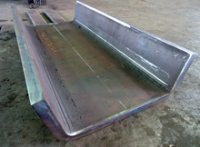 板厚22mm鉄板の曲げ加工