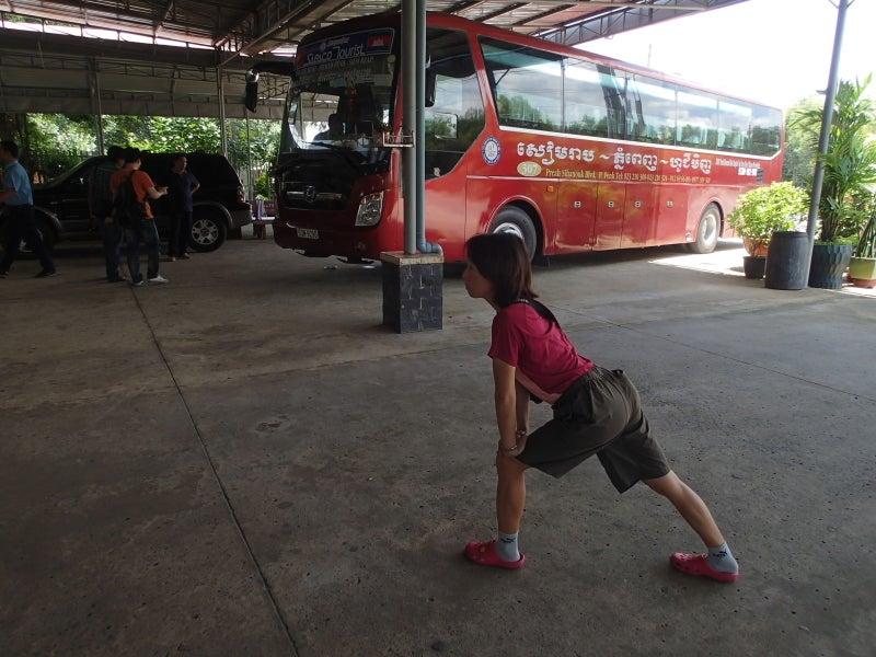 国境越えのバス