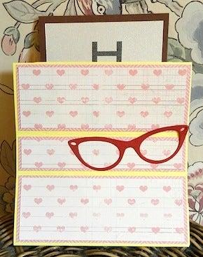 視力検査カード