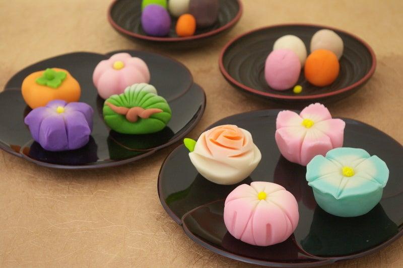和菓子を作る材料