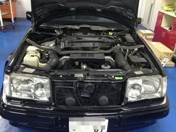 W124 E500修理専門