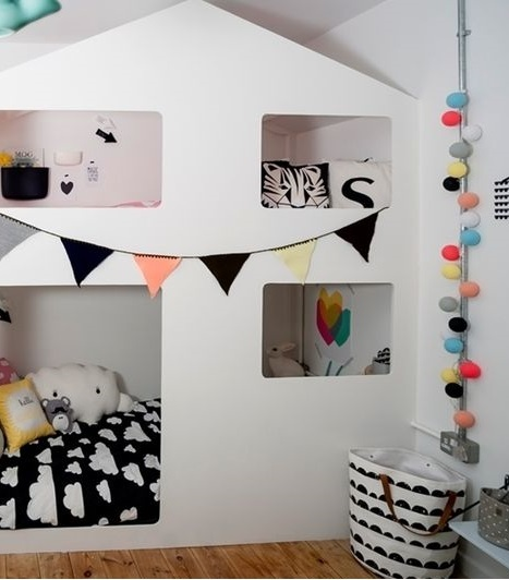 Owl Wohndesign: 子供部屋のインテリア:外国の素敵な子供部屋をご紹介!