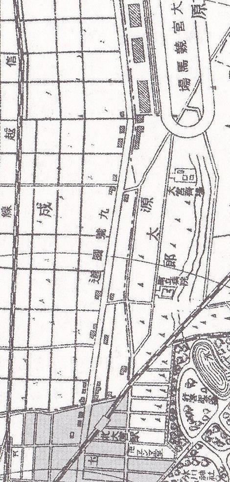 昭和7年大宮町全図