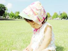 赤ちゃんの可愛い帽子・ベビーボンネット