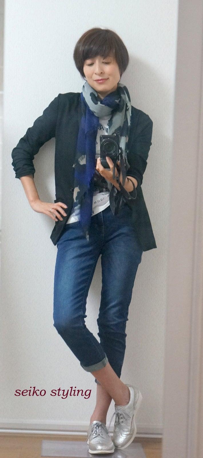 大人の女性はデニムもバージョンアップが必要です 服を変えれば、生き方が輝く!私がはじまるファッションコーデ