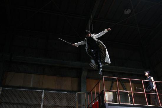 【魔戒ノ花・撮影秘話】第21話「残像」09