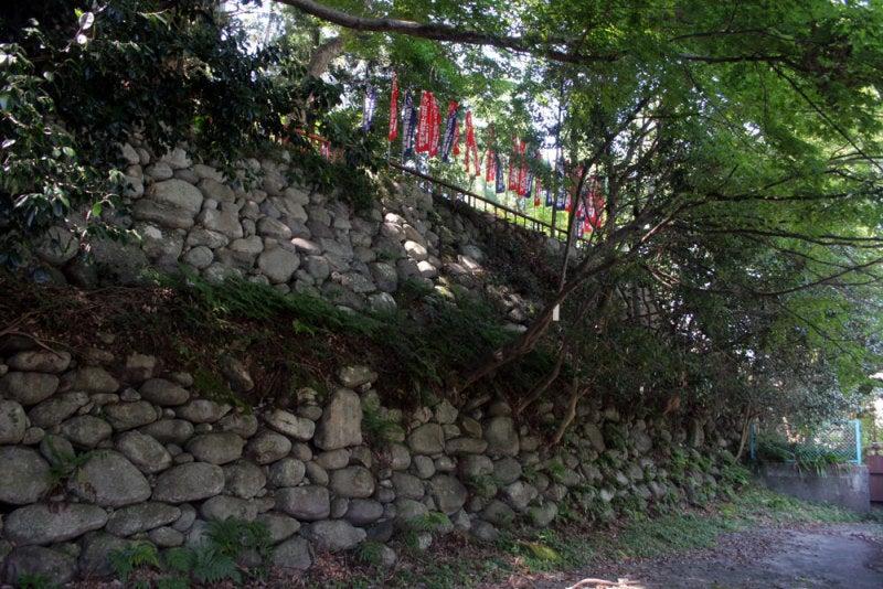 荻原諏訪城/②石垣