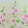 ☆ふんわり立葵♪