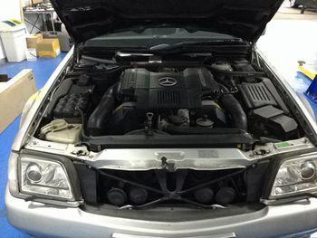 R129エンジン故障