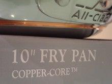 all clad オールクラッド 銅 フライパン