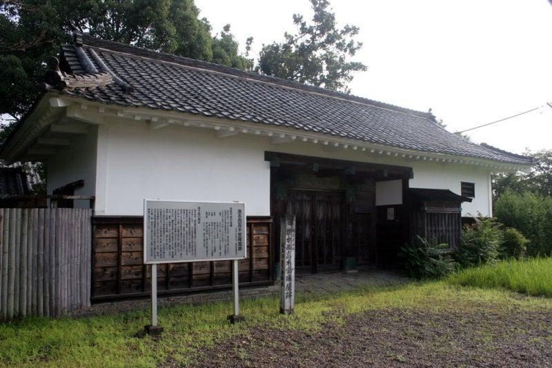 西高木家陣屋/①陣屋門