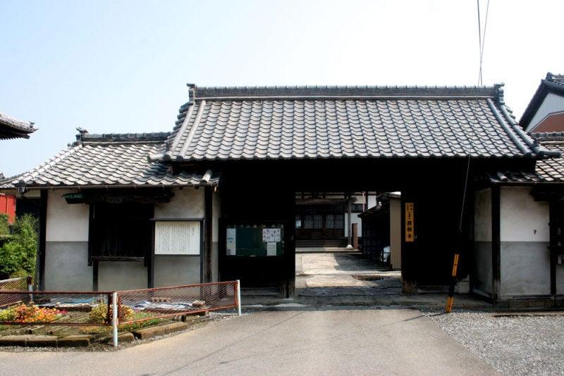 今尾城/④西願寺山門