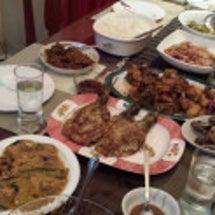 フィリピン料理を堪能…