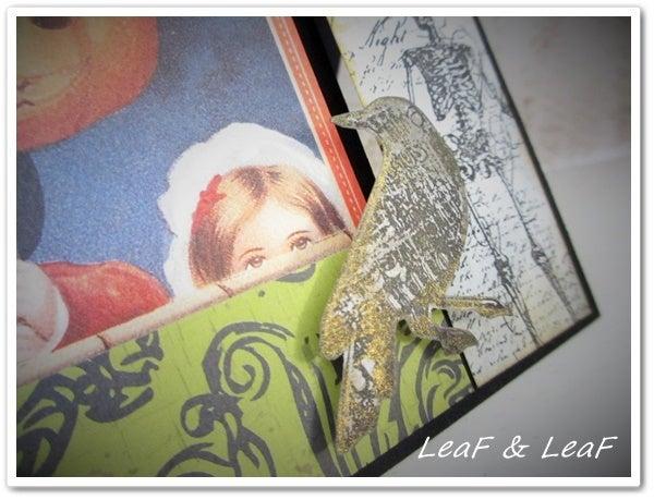 ハロウィーン手作りカード