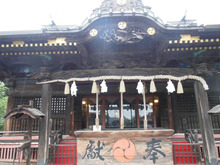 雷電神社②