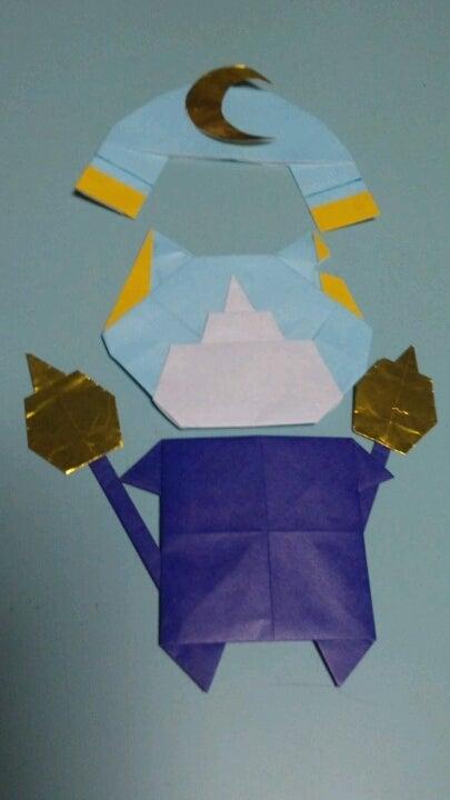 ハート 折り紙 折り紙 妖怪ウォッチ ブシニャン : ameblo.jp