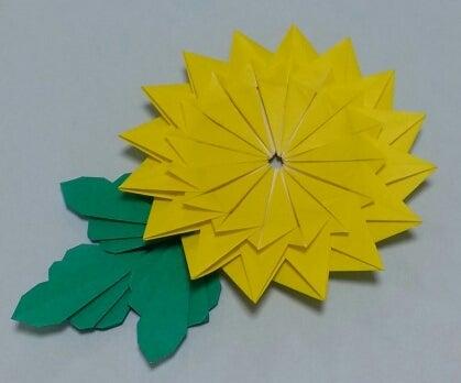 ハート 折り紙 折り紙 菊 折り方 : ameblo.jp