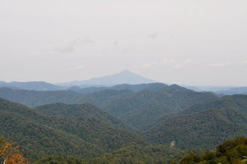 世界遺産白神山地「二ツ森」の紅葉状況4