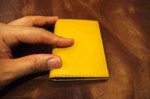 小銭入れ付きパスケース(Iさん)Waioli1409-2