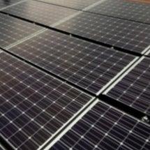 昨日の太陽光発電工事…