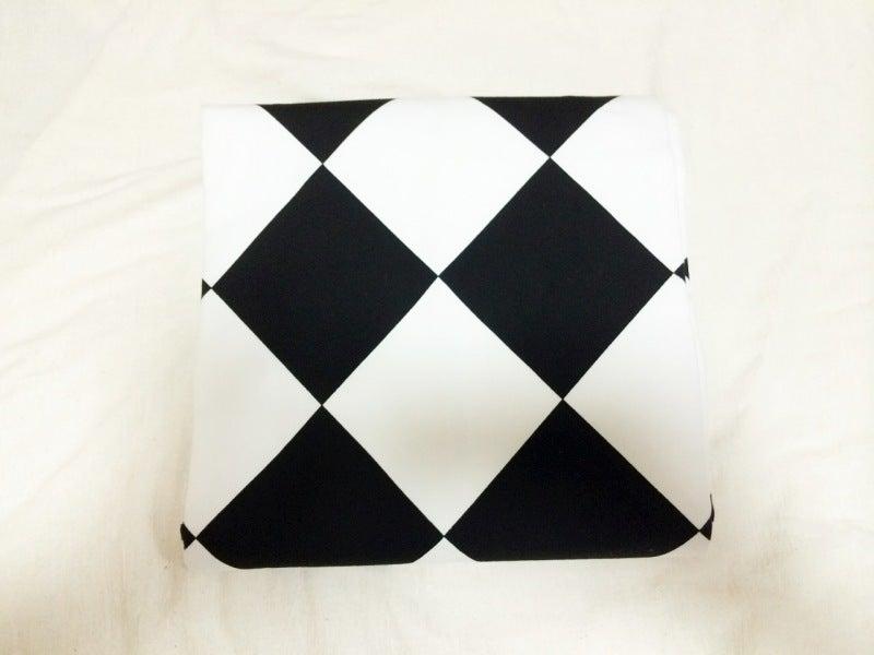 アンティーク銘仙単衣幾何学模様の着物