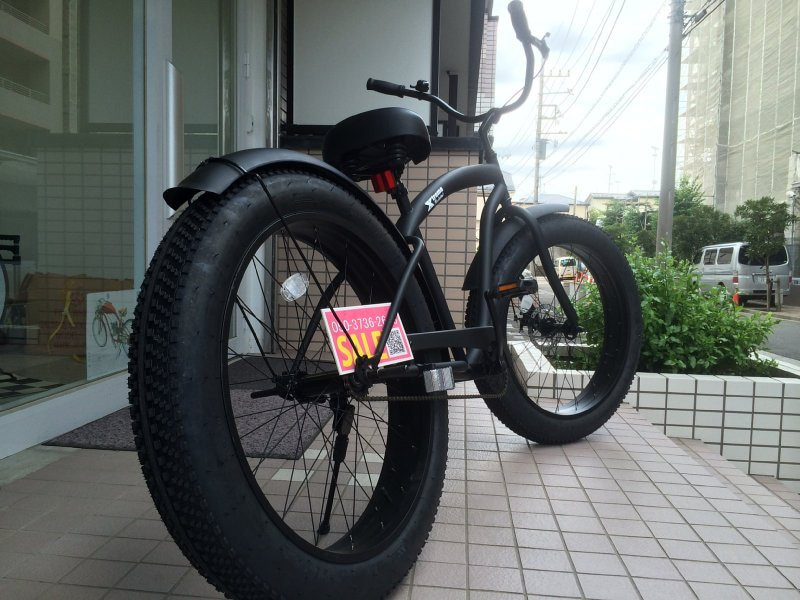 マメデザイン極太タイヤ自転車fatbike・BRONX