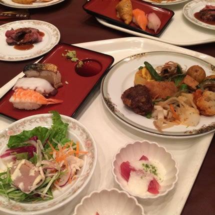 宮津ロイヤルホテルのバイキングメニュー1(夕食)