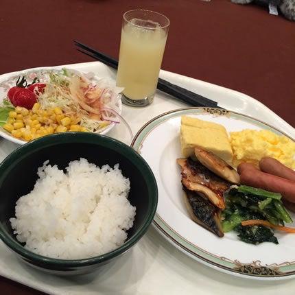 宮津ロイヤルホテルのバイキング(朝食)