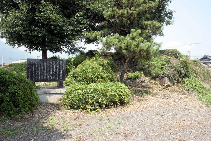 本郷城/⑥櫓台のてっぺん