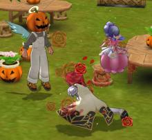 かぼちゃの広場だ!